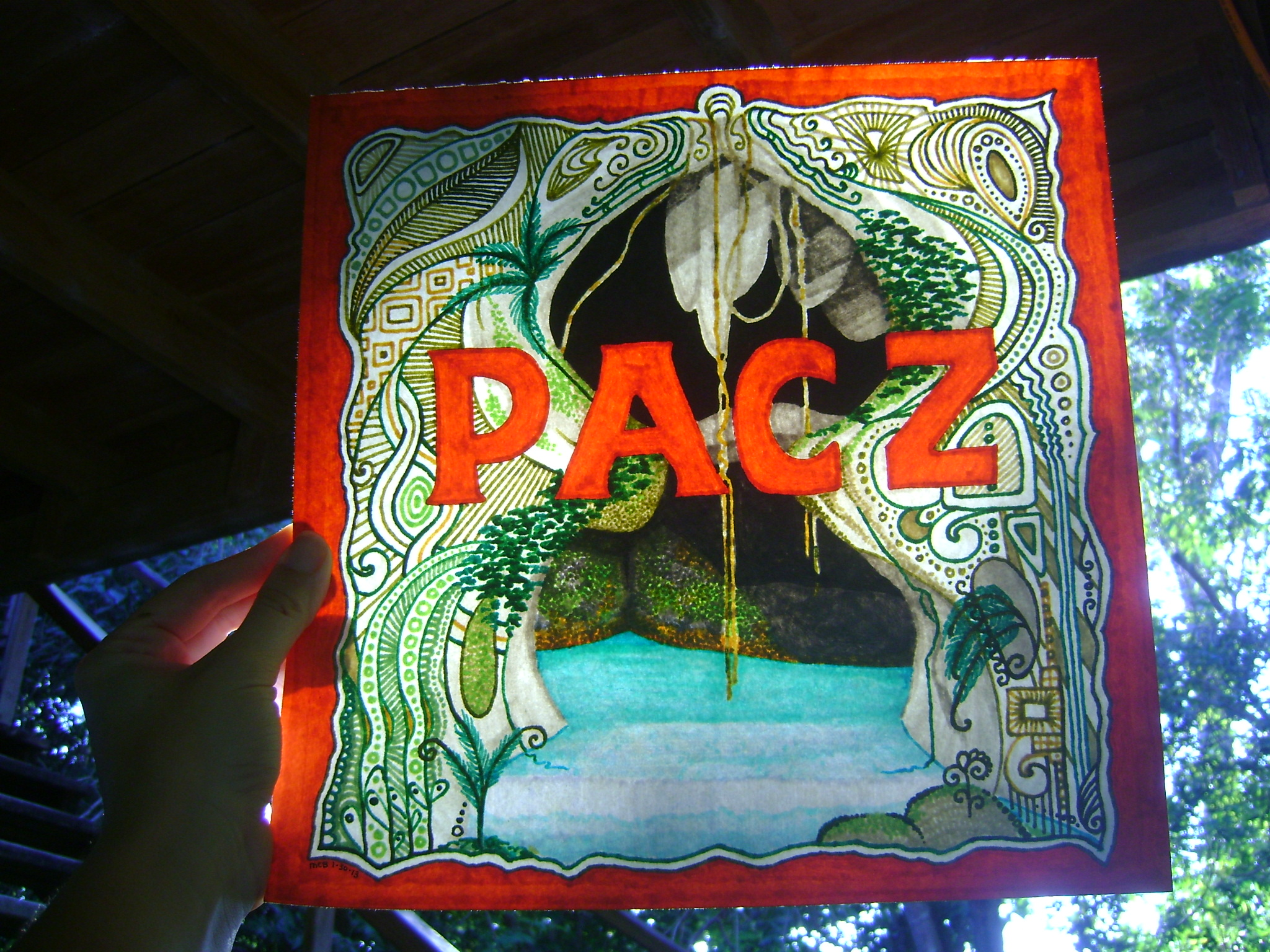 Sign for PACZ